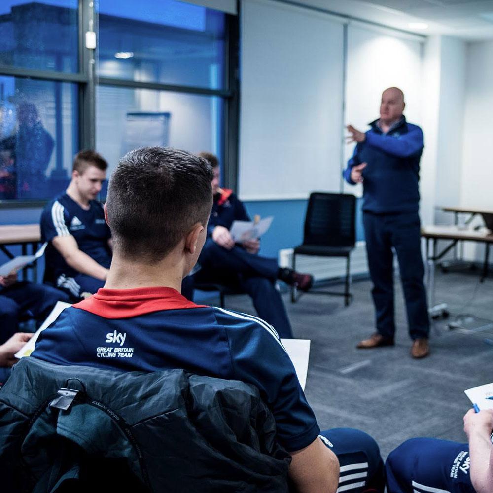 Team Sky Development session